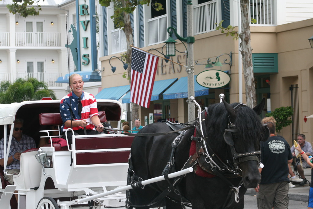Celebration carriage rides
