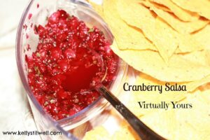 Homemade Cranberry Salsa
