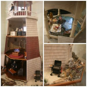St Augustine Lighthouse dollhouse