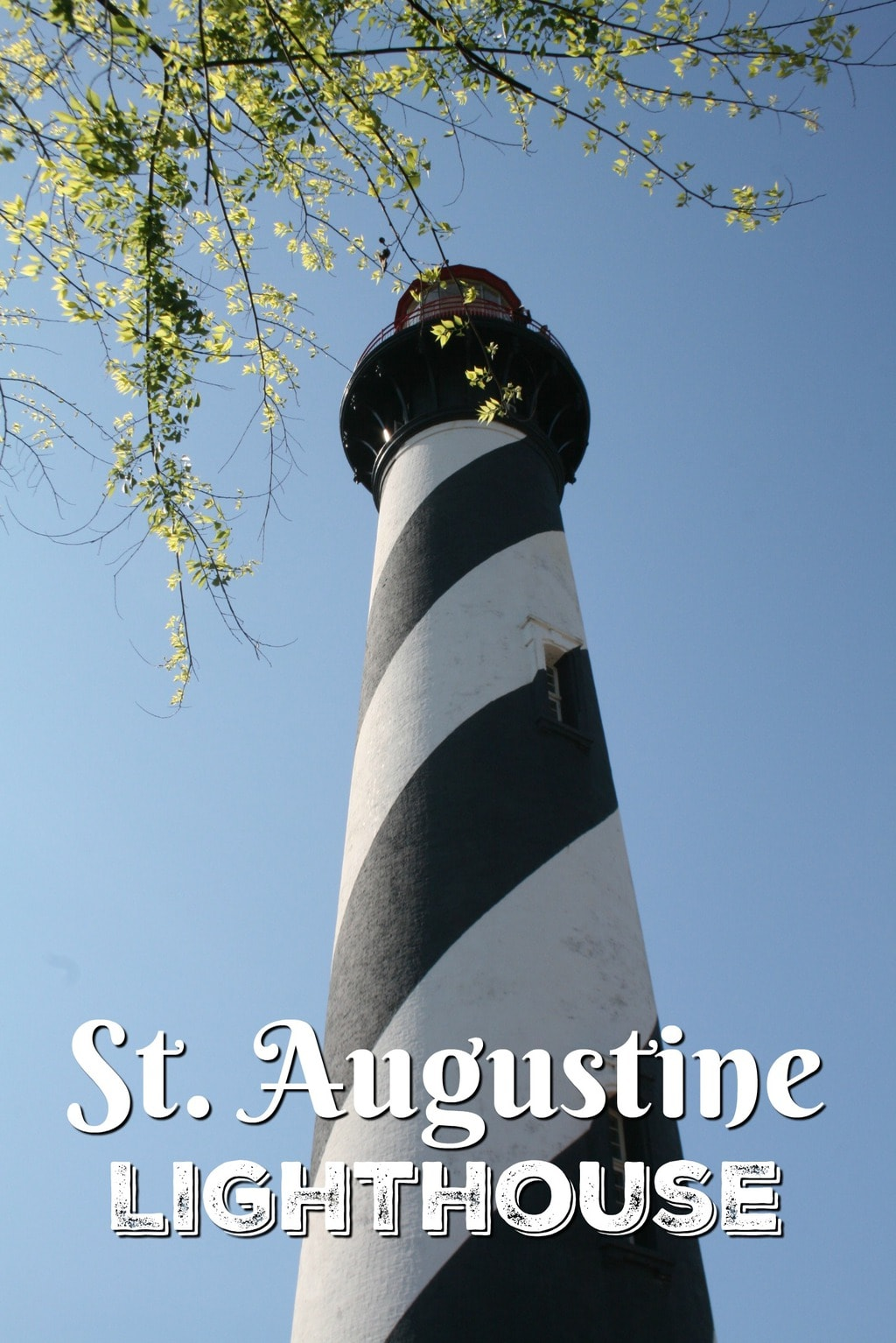 I love happy endings, and the St. Augustine Lighthouse in St. Augustine, Florida, certainly has one.