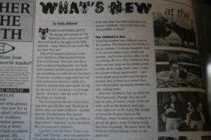 My first published article