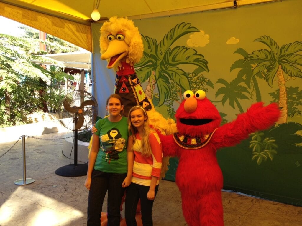 Fun in Tampa Bay at Busch Gardens with Elmo
