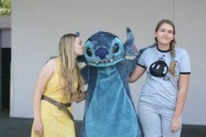 Disney's Stitch kiss