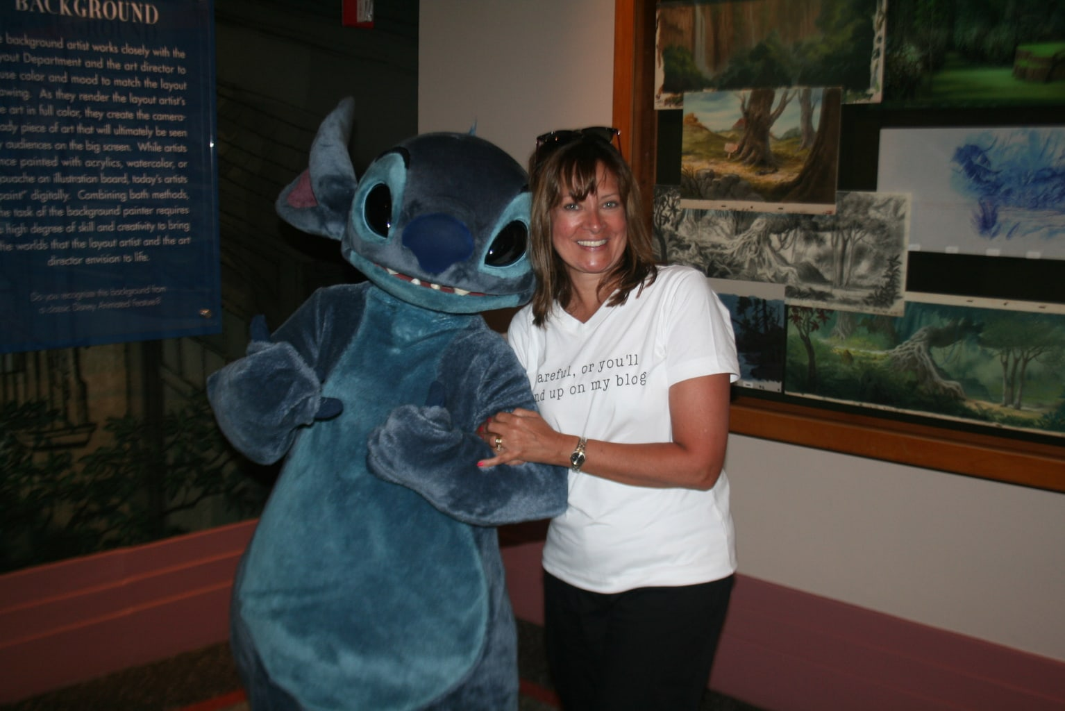 Disney's Stitch and Kelly