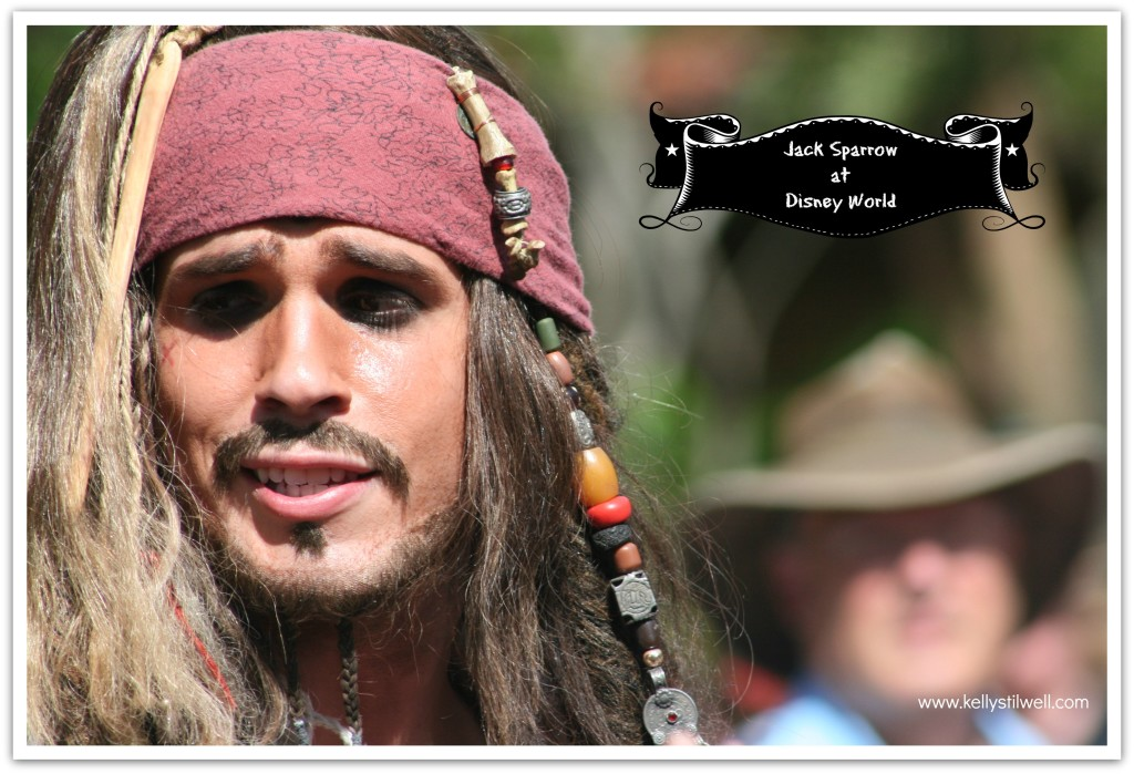 Disney World jack sparrow