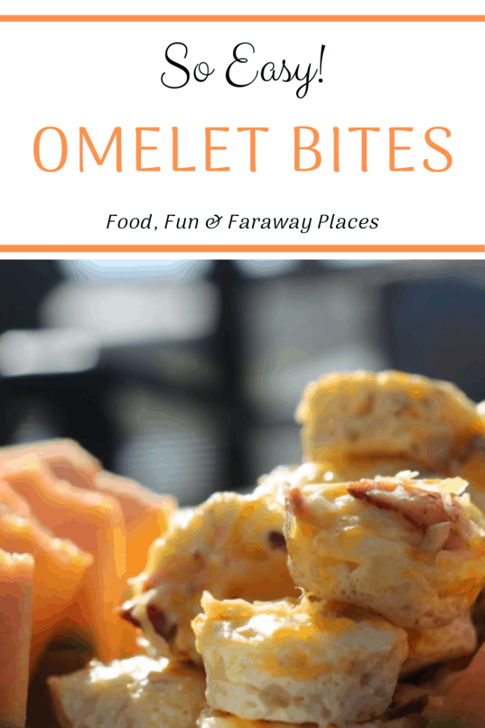 These omelet bites are so easy to make and so delicious!