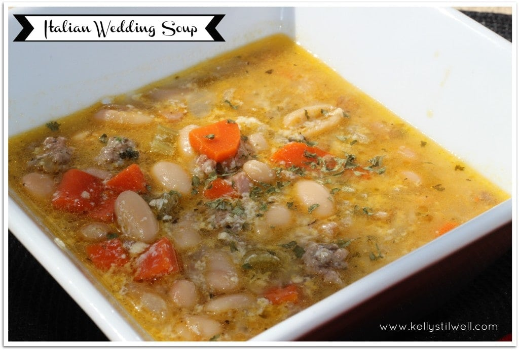 Italian Wedding Soup - Virtually Yours