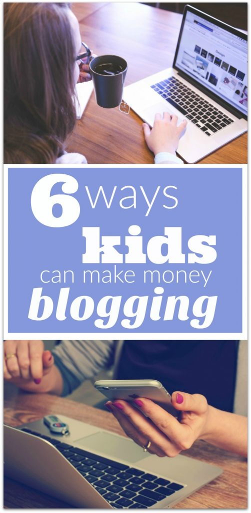 Can kids really make money blogging? I don't know what your kids do for fun, but mine spend a lot of time on their computers.
