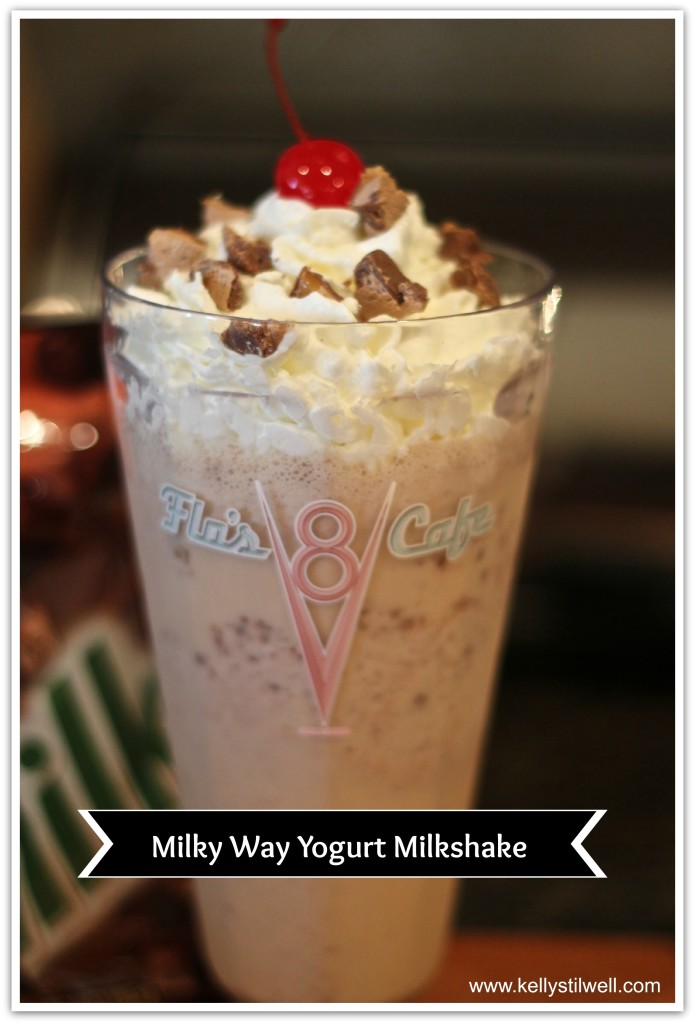 Milky Way Milkshake