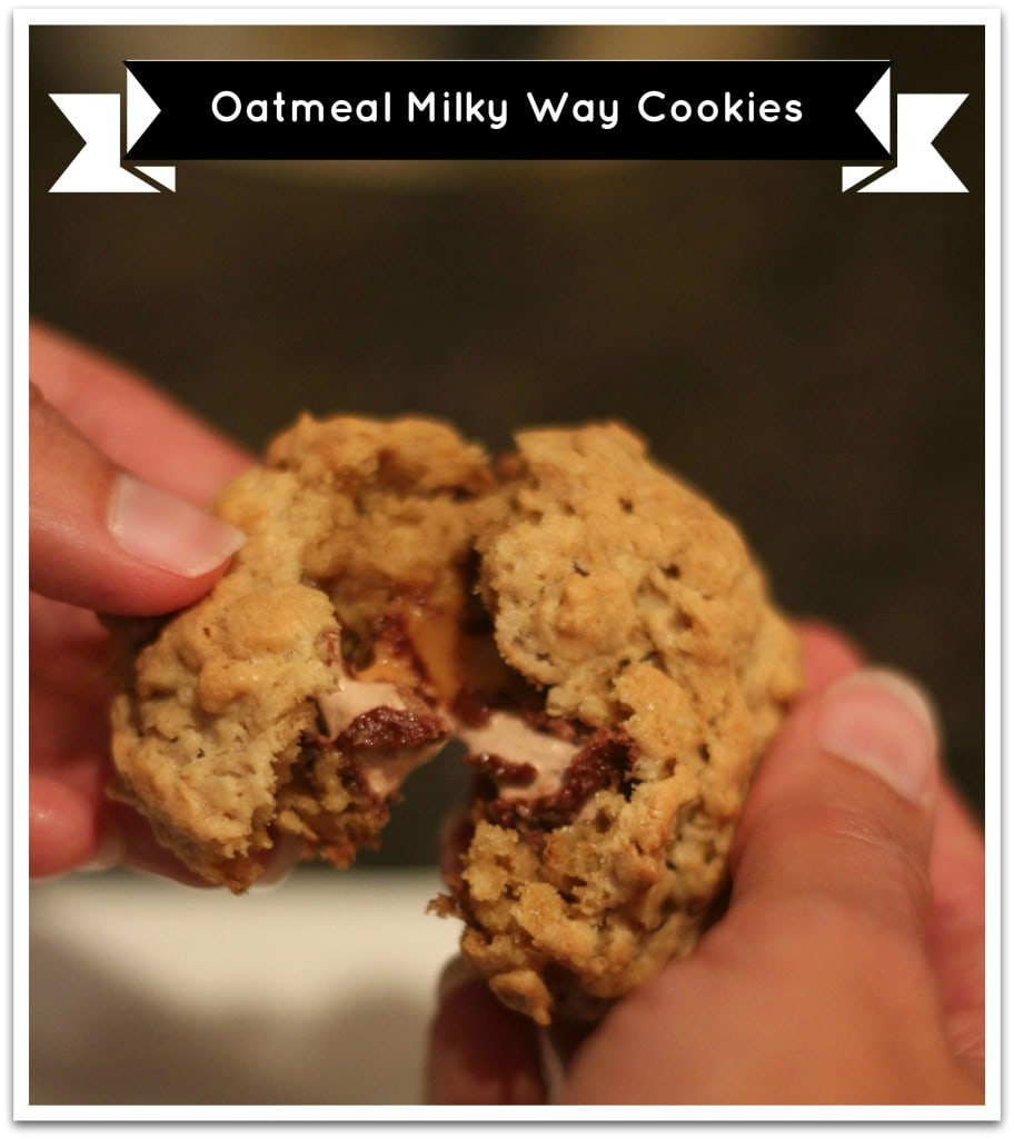Oatmeal Milky Way Cookies #shop