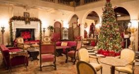 The Ringling in Sarasota; See the Ca' d'Zan Dressed Up for Christmas