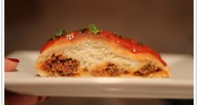 Meatball Bread Braid