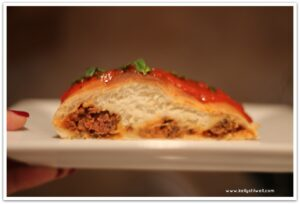 Easy, Elegant Italian Meatball Bread Braid