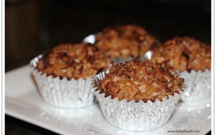 pumpkin muffins finished