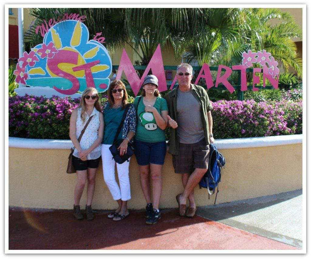 Our first port stop on the Disney Fantasy Cruise was St. Maarten. We had an absolute blast!