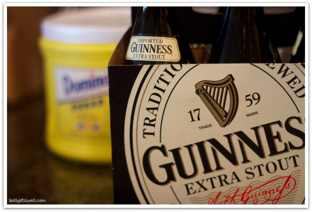 Guinness glaze