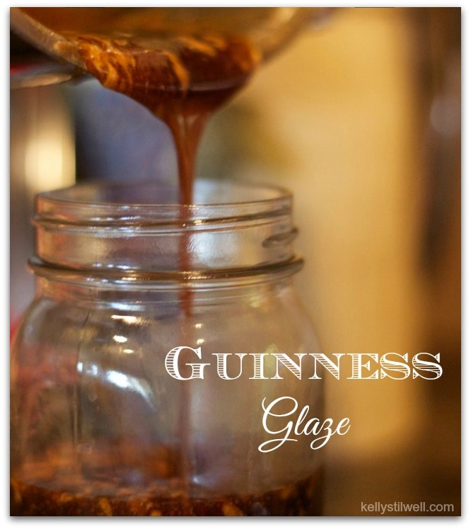 I discovered this Guinness Glaze recipe at Raglan Road Irish Pub in Downtown Disney. We've eaten at almost every restaurant there, and they serve the best food! A perfect dinner recipe is to baste ribs or chicken with this glaze. Such an easy recipe! Or serve it as they do at Raglan Road, mixed with a little oil on a plate for bread dipping! You can serve the ribs as an appetizer, too!