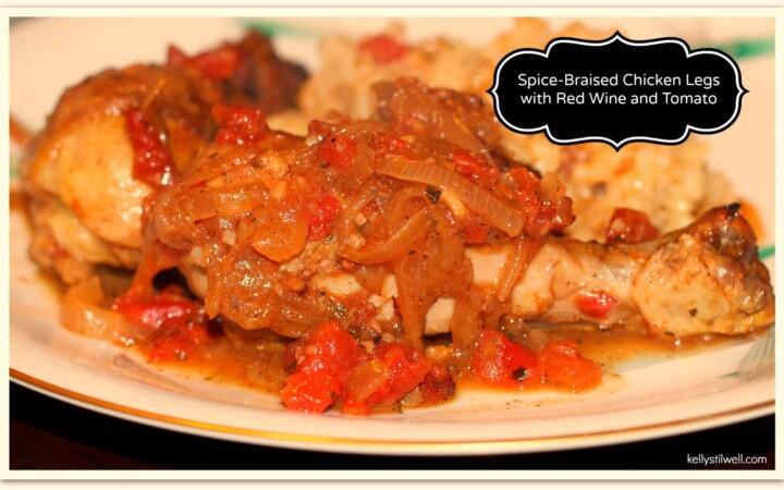 spice braised chicken legs
