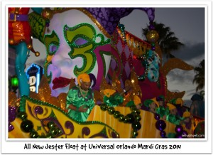 Universal Orlando Mardi Gras is a Blast!