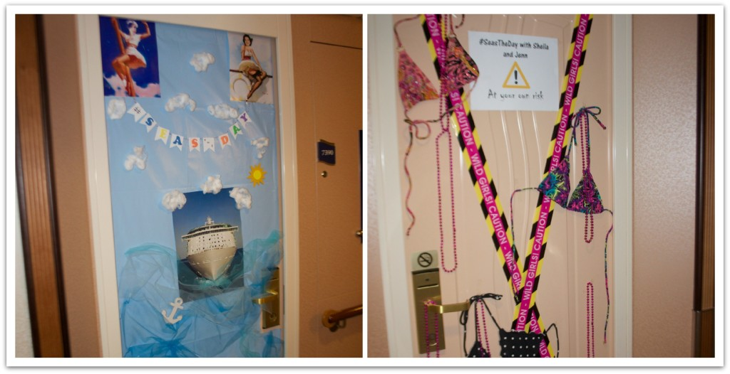 10 Ideas for Decorating your Cruise Cabin Door - Food Fun & Faraway ...