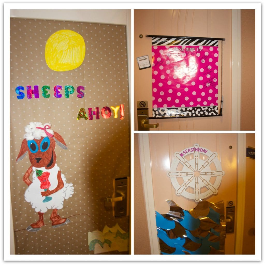 10 Ideas For Cruise Door Decorations Food Fun Faraway Places