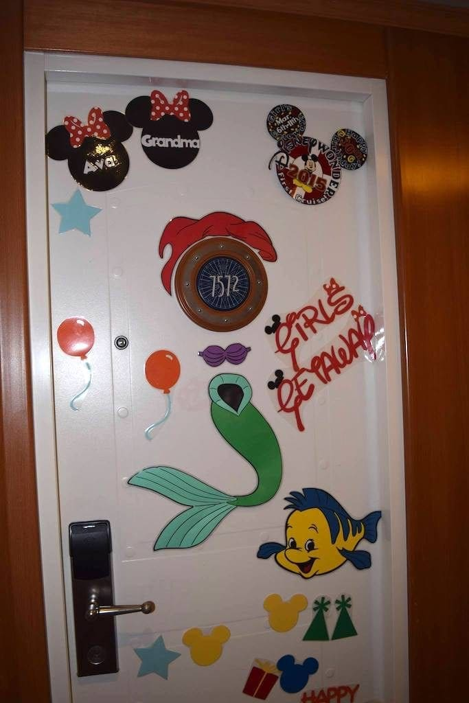 photograph relating to Disney Cruise Door Decorations Printable known as 10 Plans for Cruise Doorway Decorations - Meals Exciting Faraway Puts