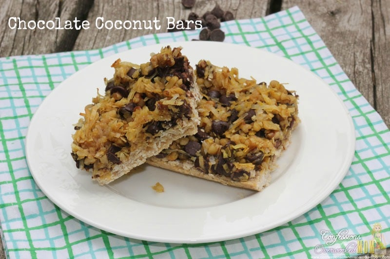 healthier desserts chocolate coconut bars confessions of an overworked ...