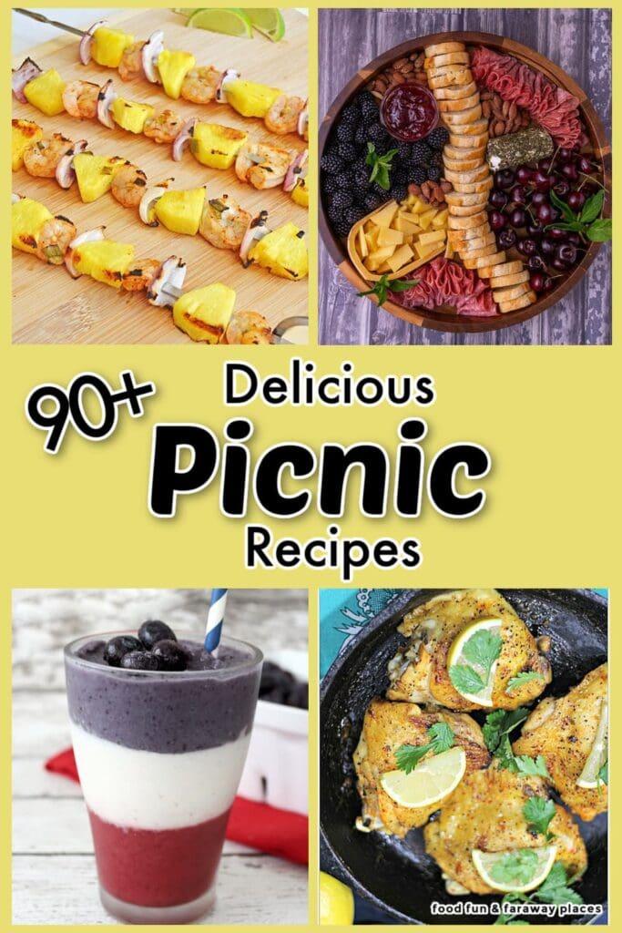 picnic recipes on Pinterest