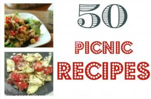 50 Delicious Picnic Recipes!