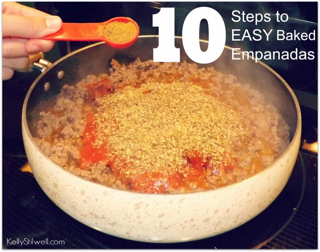 10 steps easy empanadas