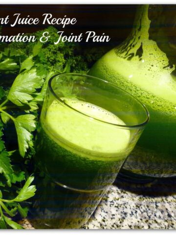 juice remedy for joint pain