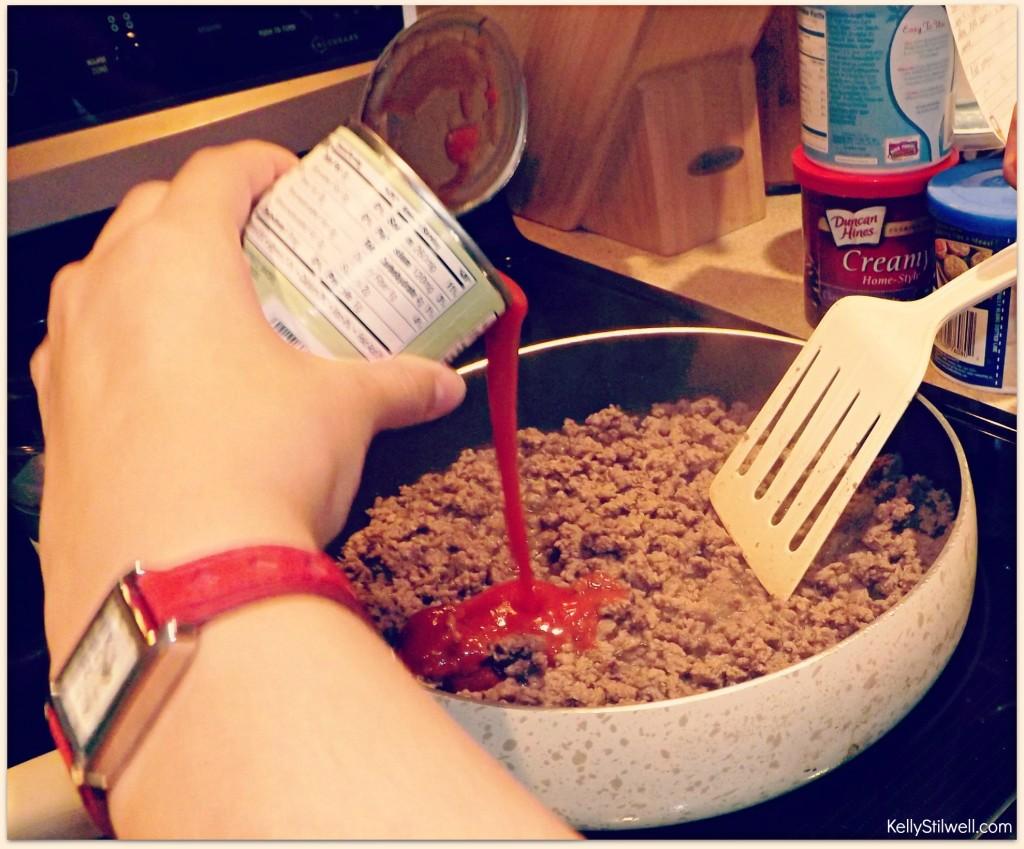 Add tomato sauce2