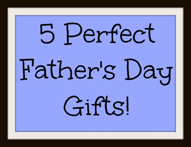 5 Perfect Fathers Day Gifts For Dad
