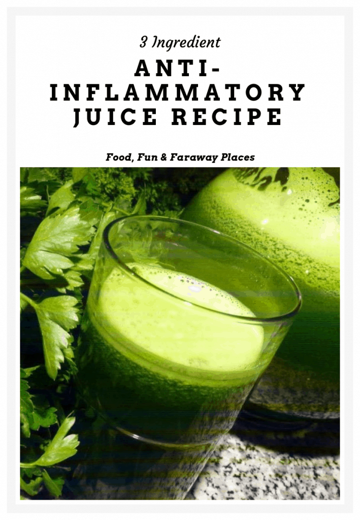 Looking for a great tasting anti inflammatory juice? I bet you thought it was too good to be true! This will be your new go-to recipe for joint pain. It's also so refreshing.