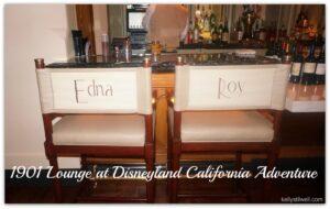 1901 Lounge at Disney's California Adventure