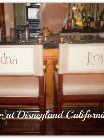 Disneyland 1901 chairs