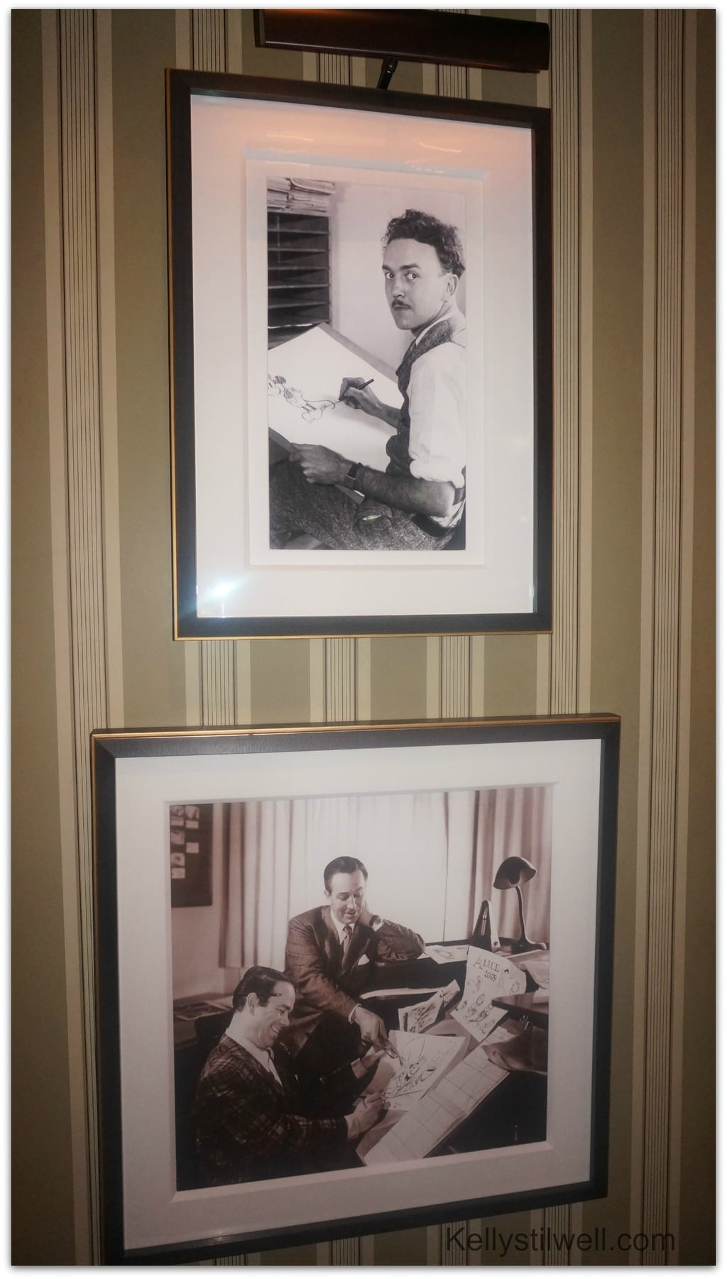 Disney's 1901 Lounge portraits