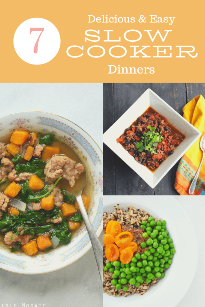 Looking for a handful of tasty slow cooker recipes to change up your meals? You've found them! I love scouring the web for new recipes I can make in my slow cooker. #slowcookerrecipes #crockpotrecipes #slowcooker
