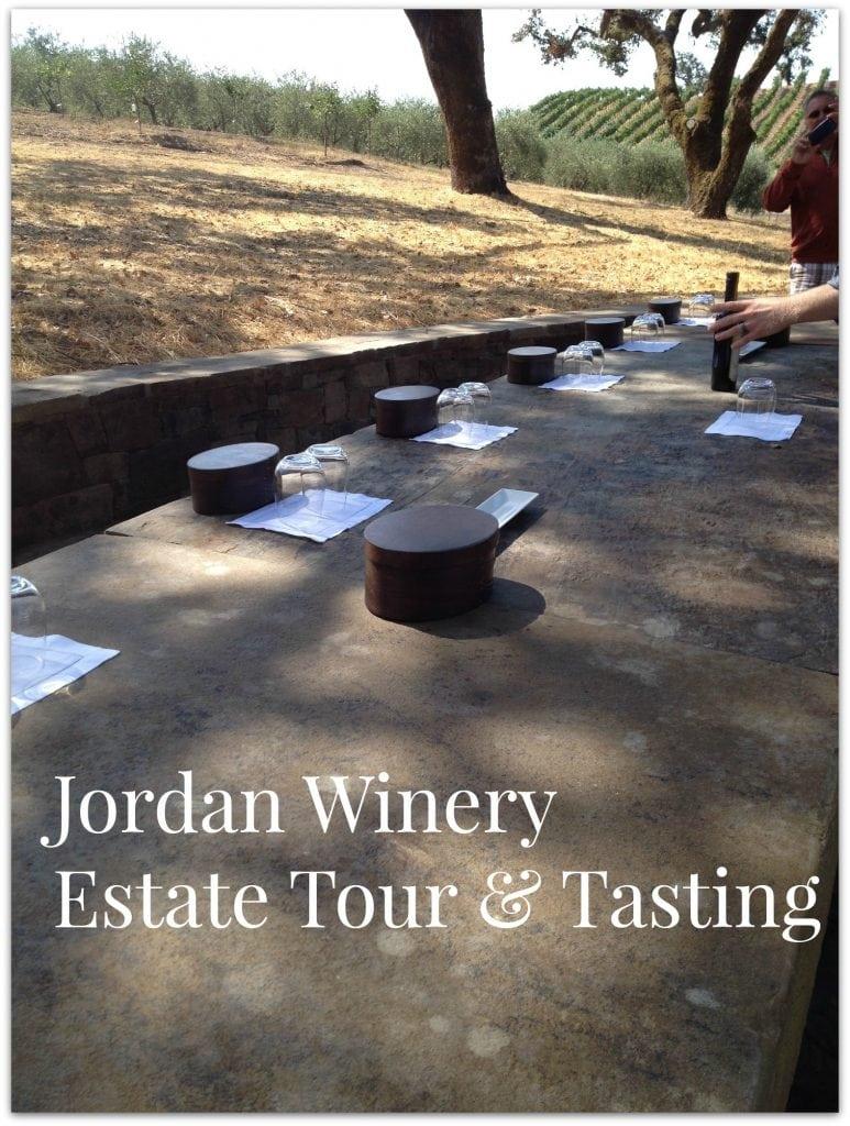 jordan winery estate tour