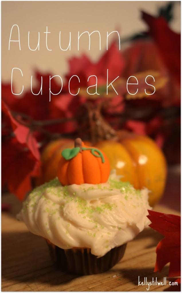Autumn cupcakes 2