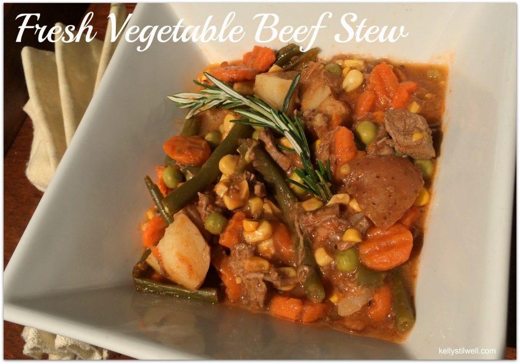 Fresh Vegetable Beef Stew