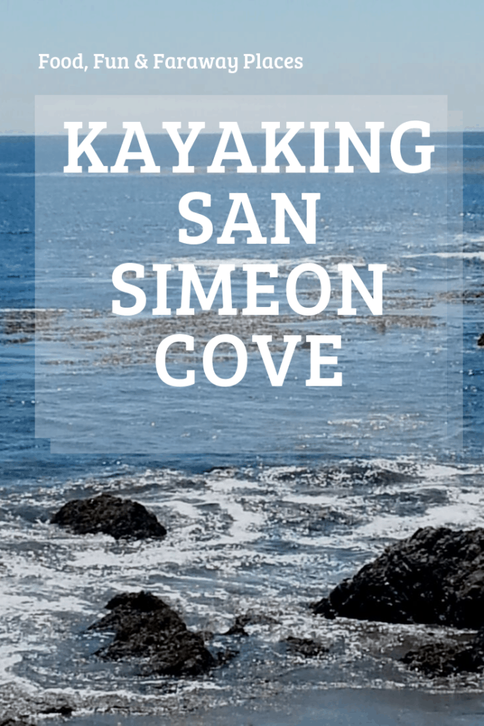 Kayaking in San Simeon Cove is a great first introduction to the sport. This was an activity we had never done as a family before, so we were excited.