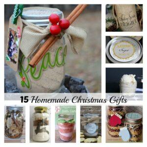 15 Homemade Christmas Gifts