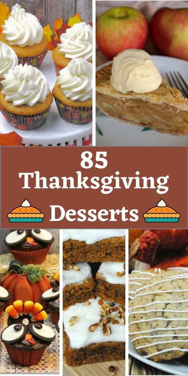 Thanksgiving desserts on Pinterest