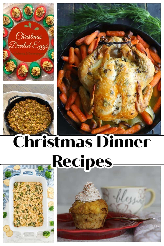 Christmas dinner recipes on Pinterest