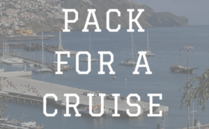 When you pack for a cruise it's a bit different than packing for other travel, which is why you'll need this cruise packing list. Most people have no idea what to take on a cruise, besides the clothes they will be wearing.