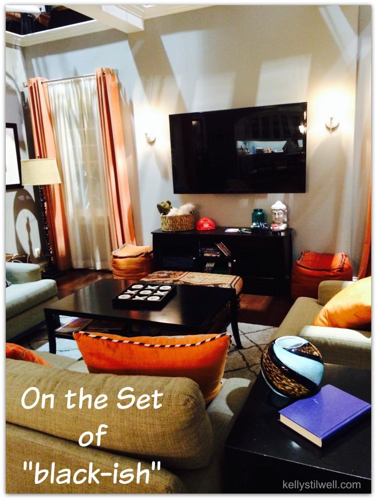 black-ish living room