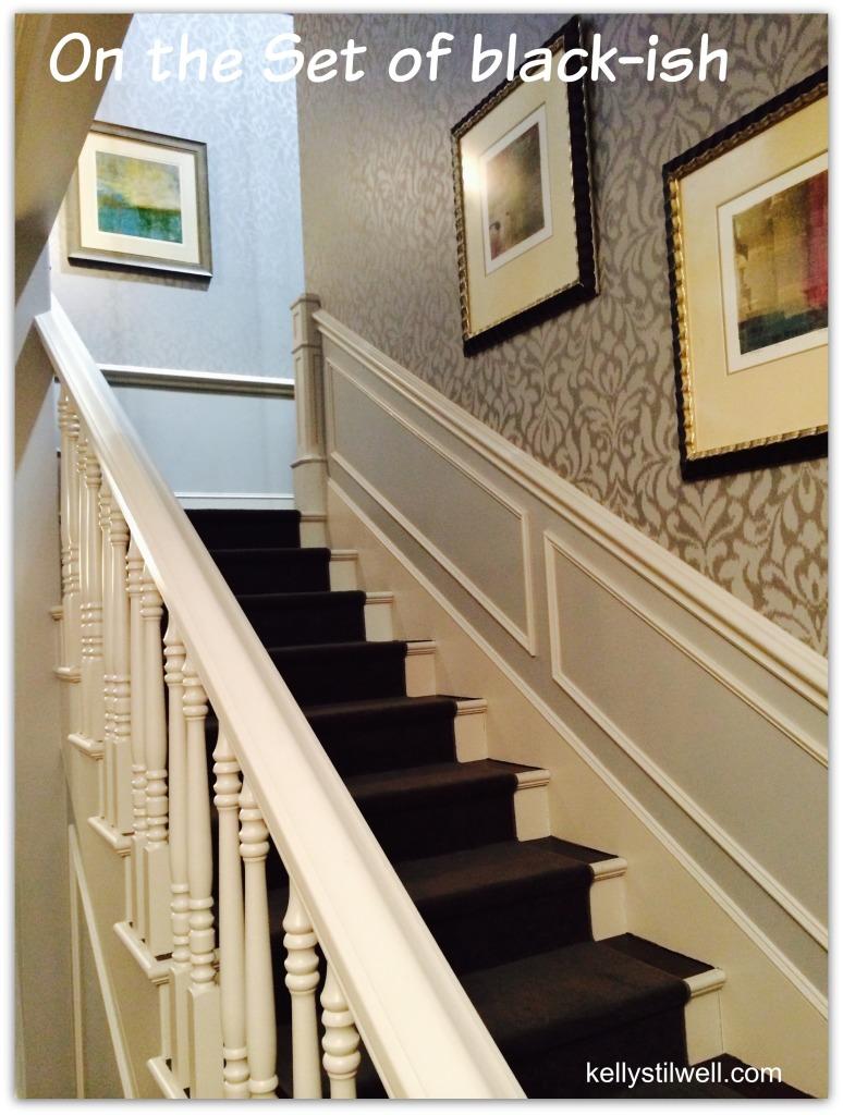black-ish stairs