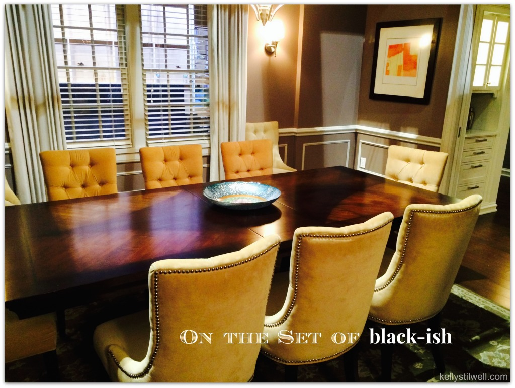 blackish dining room