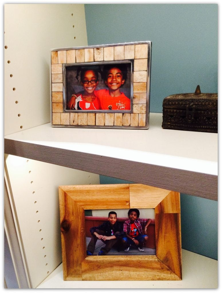 blackish photo frame